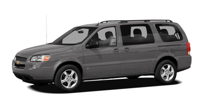 2007 Chevrolet Uplander Lt W 2lt Front Wheel Drive Extended
