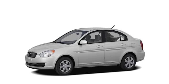 2007 hyundai accent gls 4dr sedan pricing and options. Black Bedroom Furniture Sets. Home Design Ideas