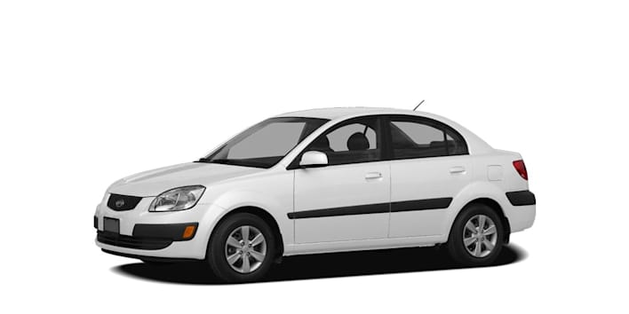 2008 kia rio lx 4dr sedan pricing and options. Black Bedroom Furniture Sets. Home Design Ideas