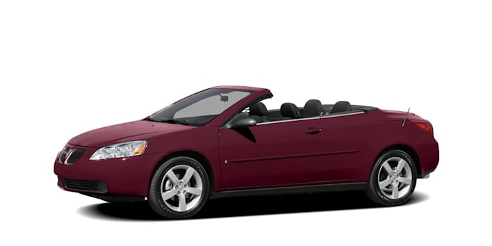 2008 Pontiac G6 Gt 2dr Convertible Pricing And Options