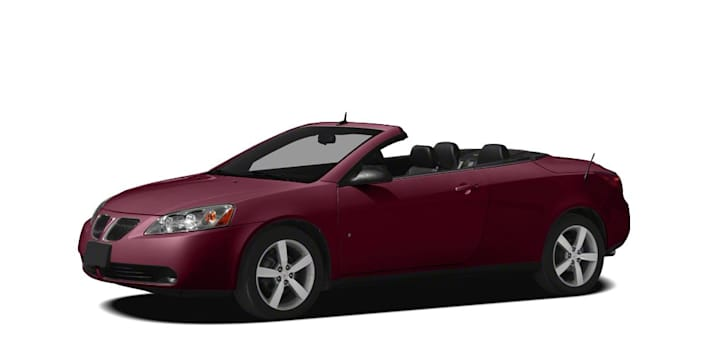 2009 Pontiac G6 Gt 12 05 08 2dr Convertible Pricing And