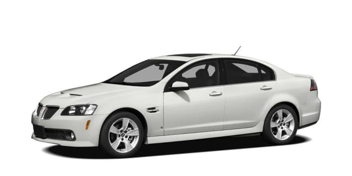 2009 Pontiac G8 Gxp 4dr Sedan Pricing And Options
