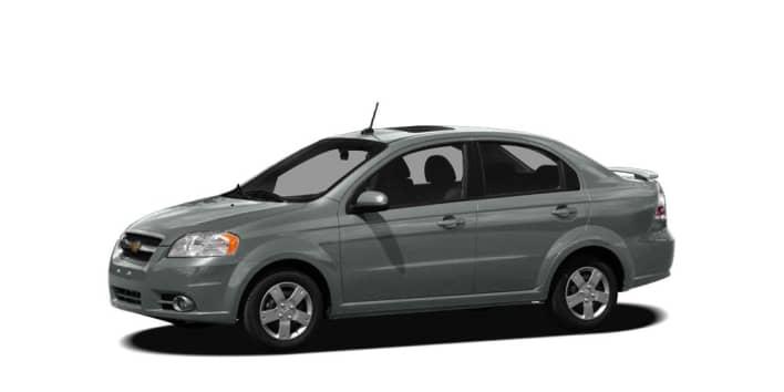 2010 Chevrolet Aveo Lt W 2lt 4dr Sedan Specs And Prices