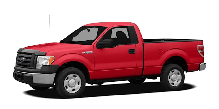 2010 ford f 150 xl 4x2 regular cab styleside 6 5 ft box 126 in wb pricing and options. Black Bedroom Furniture Sets. Home Design Ideas