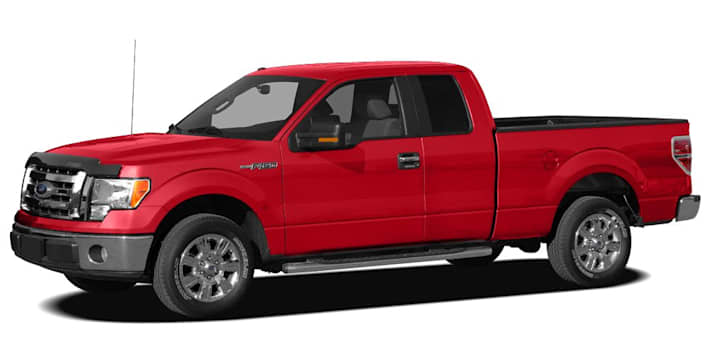 2010 ford f 150 xl 4x4 super cab styleside 6 5 ft box 145 in wb pricing and options. Black Bedroom Furniture Sets. Home Design Ideas