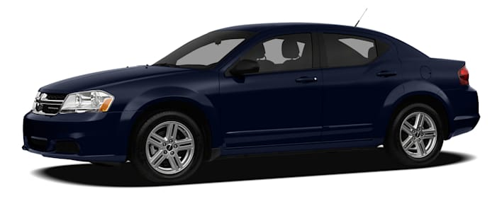 2012 Dodge Avenger SXT Plus 4dr Frontwheel Drive Sedan Specs and