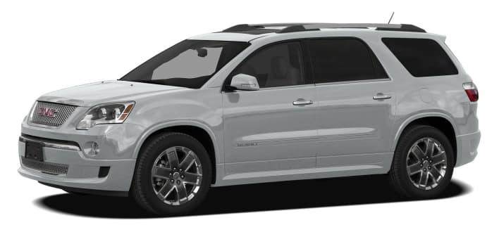 2012 Gmc Acadia Denali All Wheel Drive Pricing And Options