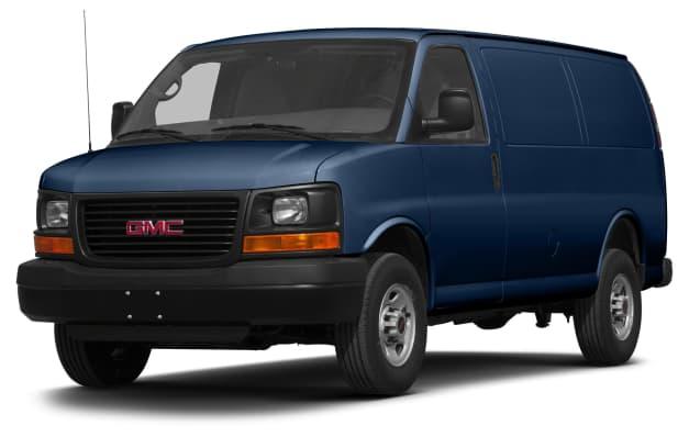 2014 Gmc Savana 2500 Diesel Rear Wheel Drive Cargo Van