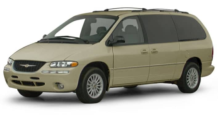 2000 Chrysler Town  U0026 Country Lxi Front