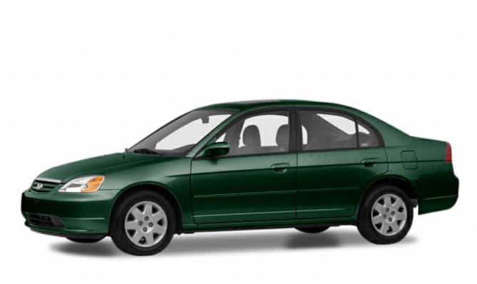2001 Honda Civic LX 4dr Sedan Specs and Prices