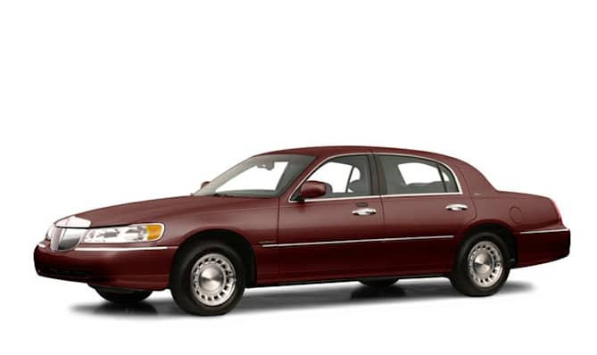 2001 Lincoln Town Car Cartier 4dr Sedan Specs And Prices