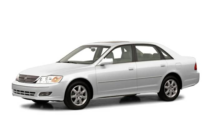 2001 Toyota Avalon Xl Buckets 4dr Sedan Pricing And