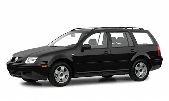 2001 Volkswagen Jetta GLS 2.0L 4dr Station Wagon Pricing and Options