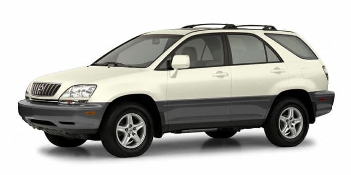 2002 Lexus RX 300 Base 4dr Allwheel Drive Information