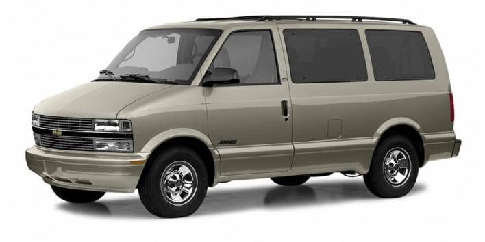 2003 Chevrolet Astro Lt All Wheel Drive Passenger Van Pictures