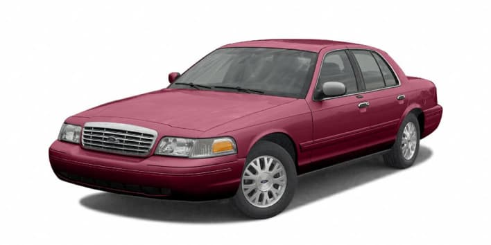 2003 ford crown victoria standard 4dr sedan pricing and options. Black Bedroom Furniture Sets. Home Design Ideas