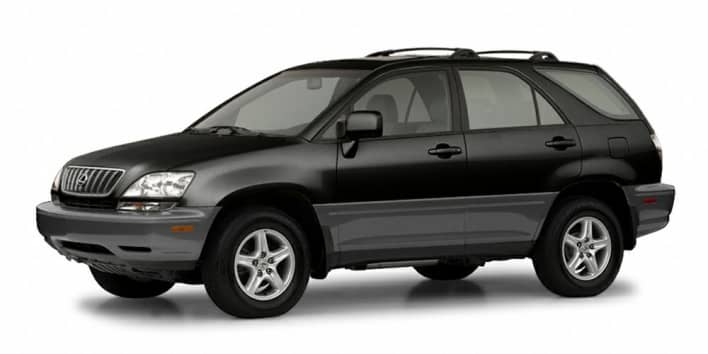 2003 Lexus RX 300 Base Allwheel Drive Information