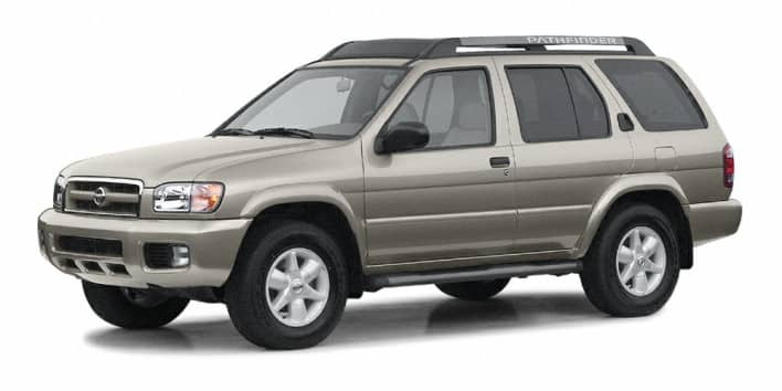 2003 nissan pathfinder le 4x4 pricing and options - 2013 nissan pathfinder interior colors ...