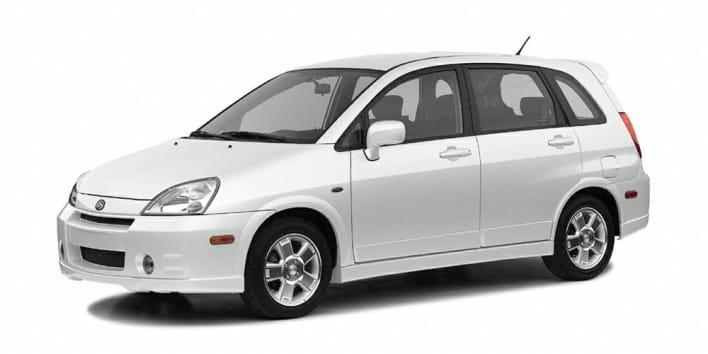 2003 Suzuki Aerio Sx Base W Awd 4dr All Wheel Drive Hatchback