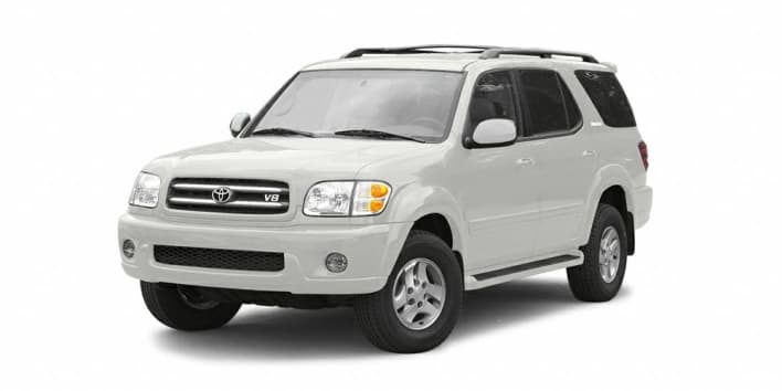 2003 toyota sequoia limited v8 4x4 pricing and options. Black Bedroom Furniture Sets. Home Design Ideas