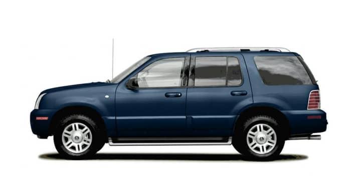 2004 Mercury Mountaineer 46L V8 Luxury Allwheel Drive Specs and
