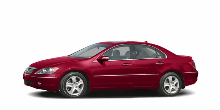 2005 acura rl 3 5 4dr sedan pricing and options. Black Bedroom Furniture Sets. Home Design Ideas