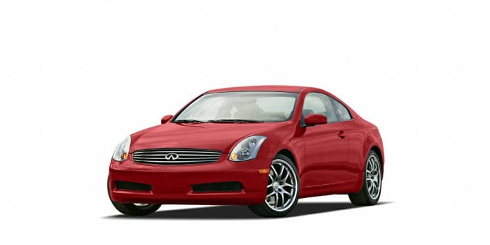 2005 infiniti g35 base 2dr coupe pricing and options. Black Bedroom Furniture Sets. Home Design Ideas