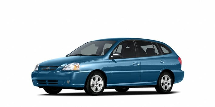 2005 kia rio cinco 4dr station wagon pricing and options. Black Bedroom Furniture Sets. Home Design Ideas