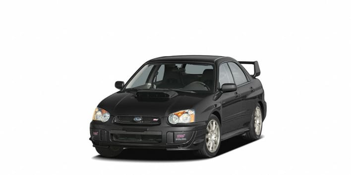 2005 subaru impreza wrx sti base w gold painted wheels 4dr all wheel drive sedan pricing and options. Black Bedroom Furniture Sets. Home Design Ideas