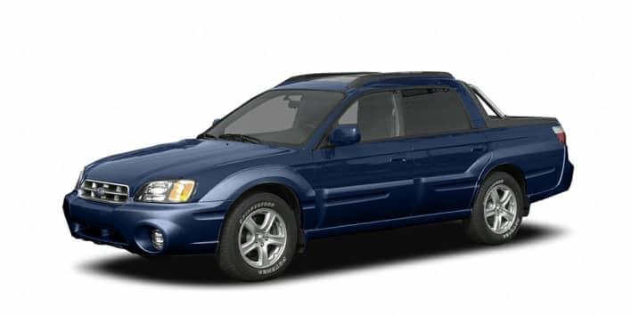 2005 Subaru Baja Turbo 4dr Crew Cab Specs And Prices