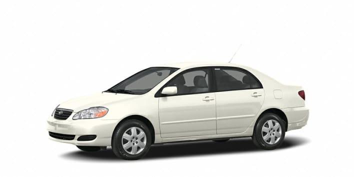 Toyota Corolla CE Dr Sedan Specs And Prices - 2006 corolla