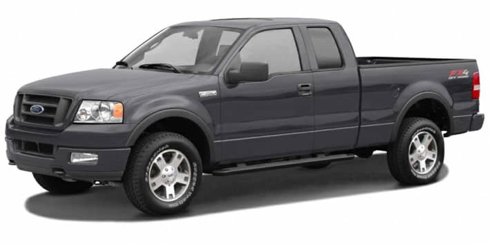 2007 ford f 150 stx 4x4 super cab styleside 6 5 ft box 145 in wb pricing and options. Black Bedroom Furniture Sets. Home Design Ideas