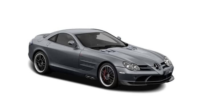 2007 Mercedes Benz Slr Mclaren 722 Edition Slr Mclaren 2dr Coupe