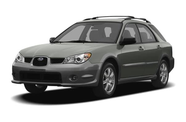 2007 Subaru Impreza Outback Sport Base 4dr All Wheel Drive Station