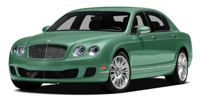 2012 Bentley Continental Flying Spur Speed Sedan Pricing And Options