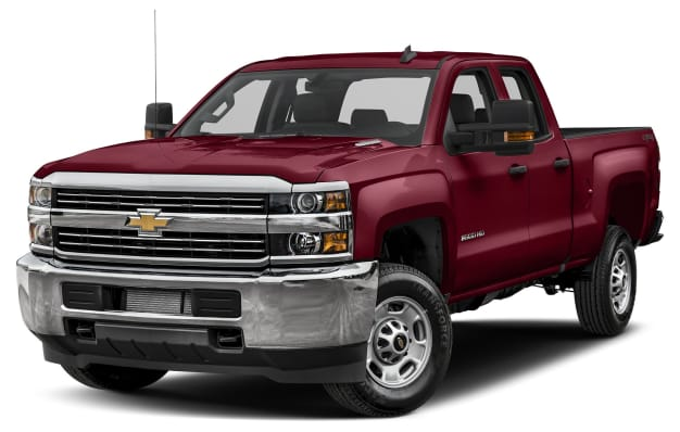 2017 chevrolet silverado 2500hd wt 4x2 double cab 8 ft box 158 1 in wb pricing and options. Black Bedroom Furniture Sets. Home Design Ideas