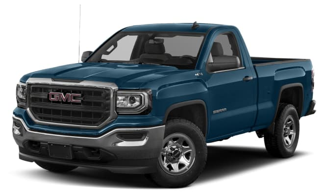 2017 gmc sierra 1500 base 4x2 regular cab 8 ft box 133 in wb pricing and options. Black Bedroom Furniture Sets. Home Design Ideas