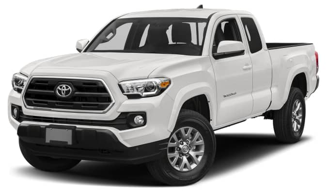 2017 toyota tacoma sr5 4x4 access cab 127 4 in wb specs and prices. Black Bedroom Furniture Sets. Home Design Ideas