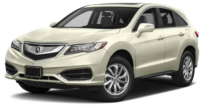 2017 Acura RDX Technology & AcuraWatch Plus Packages 4dr Front wheel