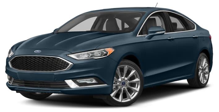 2018 Ford Fusion Platinum 4dr Front Wheel Drive Sedan
