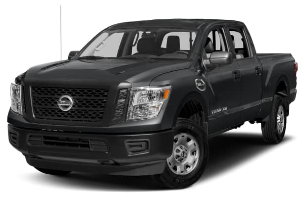 2017 nissan titan xd s gas 4dr 4x2 crew cab 6 6 ft box 151 6 in wb pricing and options. Black Bedroom Furniture Sets. Home Design Ideas