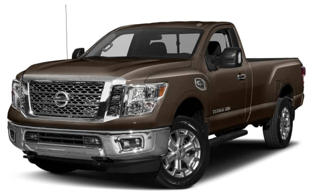 2017 nissan titan xd sv gas 2dr 4x2 single cab 8 ft box 139 8 in wb pricing and options. Black Bedroom Furniture Sets. Home Design Ideas