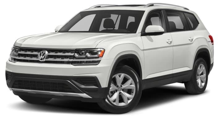 2018 Volkswagen Atlas 3 6l V6 Launch Edition 4dr Front