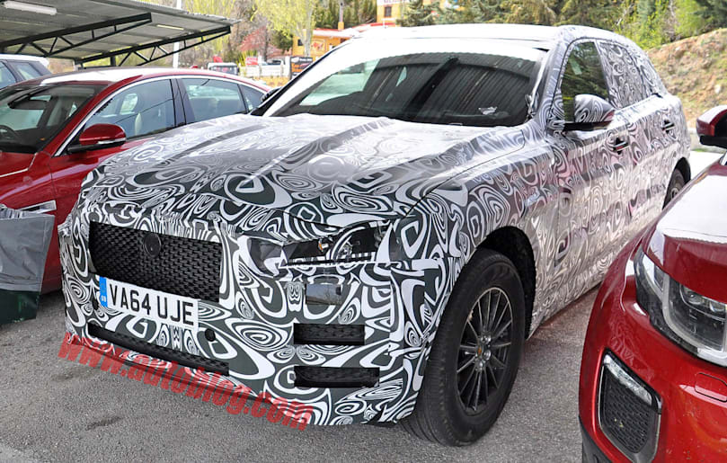 Jaguar F Pace Spy Shots Inside And Out Apr 28 2015 Photo Gallery