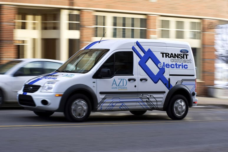 2011 Ford Transit Connect Electric Photo Gallery Autoblog