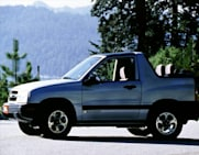 2000 Chevrolet Tracker Crash Test Ratings