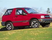 1999 Chevrolet Tracker Crash Test Ratings