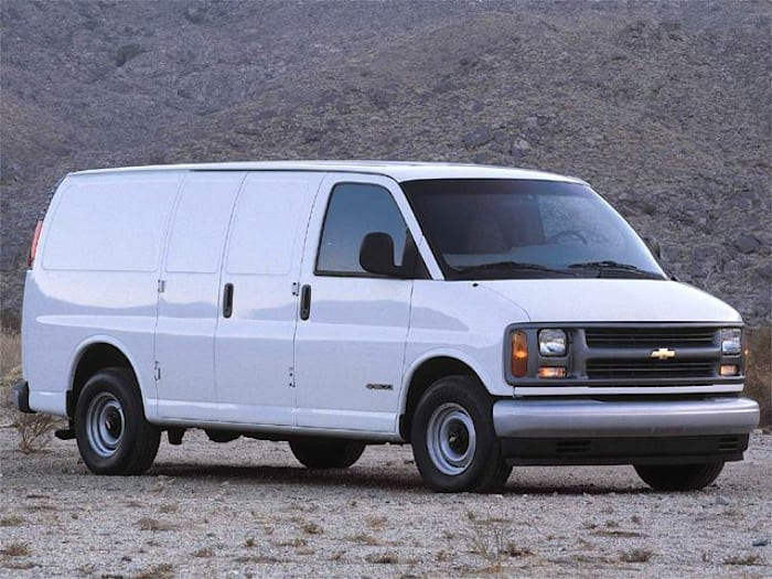 2000 chevrolet express base g2500 cargo van specs and prices. Black Bedroom Furniture Sets. Home Design Ideas