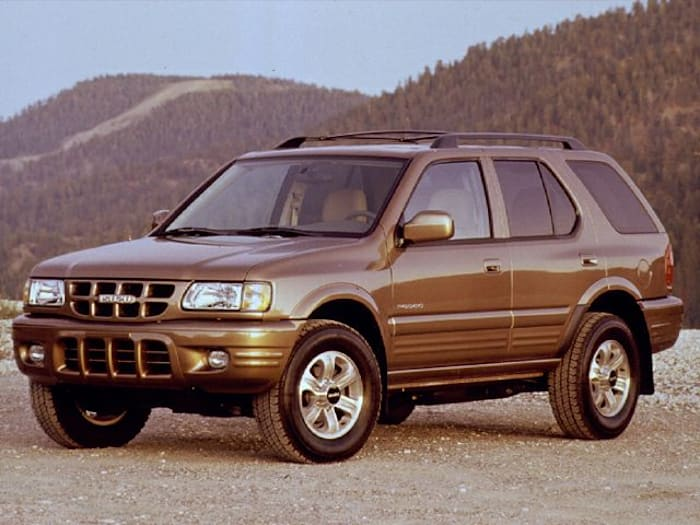 2000 isuzu rodeo new car test drive. Black Bedroom Furniture Sets. Home Design Ideas