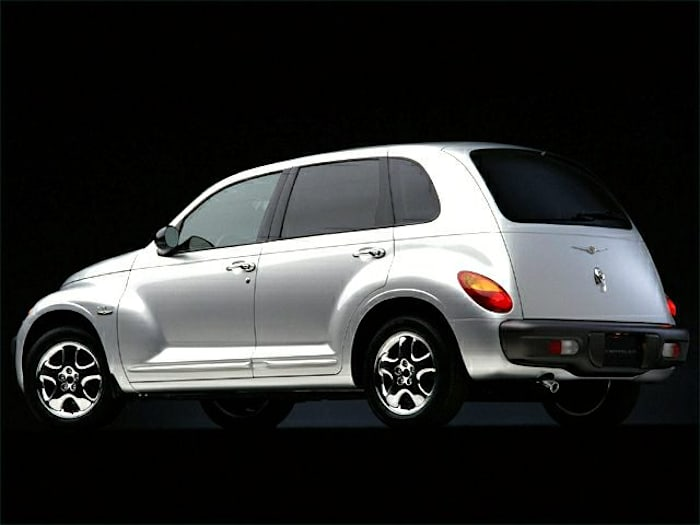 2001 chrysler pt cruiser new car test drive. Black Bedroom Furniture Sets. Home Design Ideas